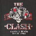(M) クラッシュ  COMBAT ROCK Tシャツ (新品) 【メール便可】
