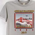 サンフランシスコ マラソン1985 Tシャツ 【メール便可】 古着(sale商品)