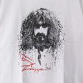 【M 】フランクザッパ WHT Tシャツ(新品)【メール便可】 【メール便可】(sale商品)
