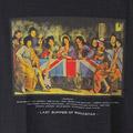 (L/ブラック) 最後の晩餐 ロックスター Tシャツ(新品)【メール便可】 【メール便可】