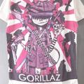 (L) ゴリラズ #1 Tシャツ(新品)【メール便可】