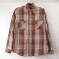 【M 】ビッグマック ヘビーフランネルシャツ #1 リペア 古着 (sale商品)