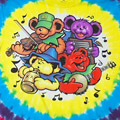 (M) グレイトフルデッド Bear Jamboree タイダイTシャツ(新品)