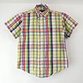 【キッズ6 】ラルフローレン キッズ 半袖ボタンダウンシャツ YGC 古着 【メール便可】(sale商品)