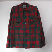 AMANA アマナ ウールシャツ  リペア(sale商品)