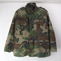 【Sエクストラショート 】 M-65 フィールドジャケット ウッドランドカモ 古着 (sale商品)