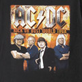 AC/DC ROCK OR BUST ツアー Tシャツ (古着) 【メール便可】