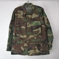 ウッドランドカモ BDU シャツジャケット