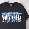 NAVY SEALS Tシャツ (古着)【メール便可】