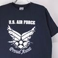 U.S.AIR FORCE Tシャツ (古着)【メール便可】