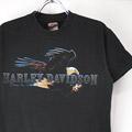 ハーレーダビッドソン INDIANAPOLIS Tシャツ (古着)【メール便可】