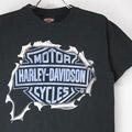 ハーレーダビッドソン CAPITAL Tシャツ (古着)【メール便可】