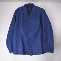 (M/96)スウェーデン軍 ワークジャケット ブルー