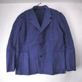 (L/104)スウェーデン軍 ワークジャケット ブルー