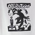(M)オペレーション アイビー WHT Tシャツ(新品B品2)【メール便可】