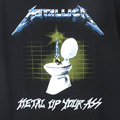 (L) メタリカ METAL UP YOUR ASS Tシャツ (新品) 【メール便可】