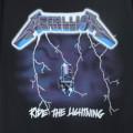 (M) メタリカ RIDE THE LIGHTNING Tシャツ (新品)