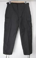 (Mショート)ブラック BDU パンツ 米軍実物 97'デッドストック