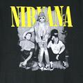 (L)ニルヴァーナ #6 Tシャツ(新品)【メール便可】