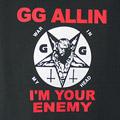 (L)GGアリン #2 BLK Tシャツ(新品)【メール便可】