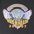 ヴァンヘイレン 2007 Tシャツ(古着)【メール便可】