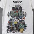 (M) ゴリラズ Multi Boomboxes Tシャツ(新品)