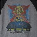 (M)エアロスミスStadium 84 ベースボールTシャツ(新品)