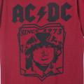 (L)AC/DC REDTシャツ(新品)【メール便可】