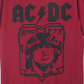 (M)AC/DC REDTシャツ(新品)【メール便可】