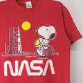 スヌーピー NASA Tシャツ