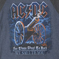 AC/DC ベースボールロンT (古着)【メール便可】