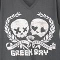(M) グリーンデイ Vネック GRY Tシャツ(新品)【メール便可】