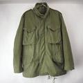 M-65 フィールドジャケット アルミジップ (Sレギュラー)