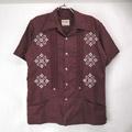 FARAHON キューバシャツ  (古着)
