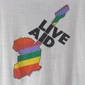 ライヴエイド LIVE AID 1985  Tシャツ (古着)