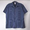 ROMANI NVY キューバシャツ (古着)