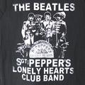 (L) ビートルズ Sgt. Pepper Crackle Tシャツ (新品)