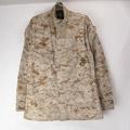 USMC デザート マーパット カモ ミリタリーシャツジャケット (SR)