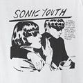 (M) ソニックユース WHT Tシャツ (新品)