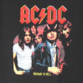 (S) AC/DC HIGHWAY TO HELL Tシャツ (新品)【メール便可】