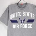 U.S.AIR FORCE HGR Tシャツ 古着 (M)【メール便可】