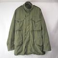 M-65 フィールドジャケット セカンド アルミジップ (Mロング)