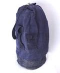 【中古】 ネイビー キャンバス ダッフル バッグ