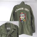 バック刺繍 M-1950 フィールドジャケット 古着リメイク (SR)