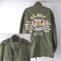 バック刺繍 M-1951 フィールドジャケット 古着リメイク (SR)