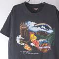 ハーレーダヴィッドソン Pacific Tシャツ USA 古着【メール便可】