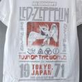 (L) レッドツェッペリン TOKYO 71 Tシャツ (新品)