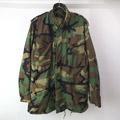 M-65 フィールドジャケット ウッドランド カモフラージュ SR 古着