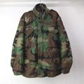 M-65 フィールドジャケット ウッドランド カモフラージュ MS 古着