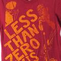 エルヴィスコステロ Tシャツ RED 古着【メール便可】
